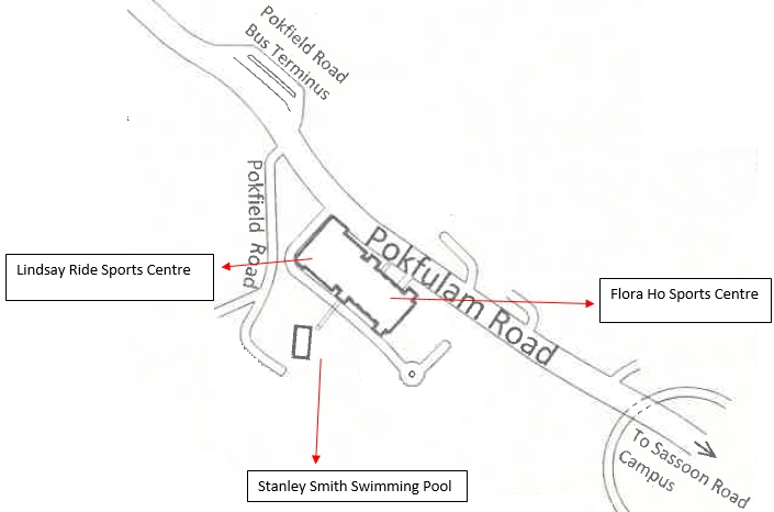 Map of Flora Ho Sports Centre